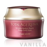 Etude House Total Age Repair Wrinkle Reduce Beauty Sleep Gold Mask