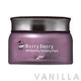 Tony Moly Berry Berry Whitening Sleeping Pack (Cherry)