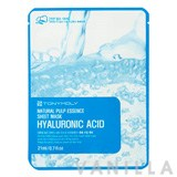 Tony Moly Natural Pulp Essence Sheet Mask Hyaluronic Acid
