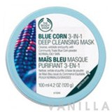 The Body Shop Blue Corn 3-in-1 Deep Cleansing Scrub Mask