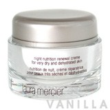 Laura Mercier Night Nutrition Renewal Cream for Very Dry and Dehydrated Skin