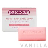 Dr.Somchai Acne & Cleansing Cream Soap for Normal to Dry Skin
