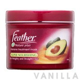 Feather Nature Plus Intensive Treatment Mask : Super Nourishing