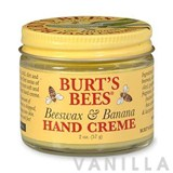 Burt's Bees Beeswax and Banana Hand Creme