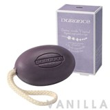 Durance Soap with a Rope with Organic Lavender Eessential Oil