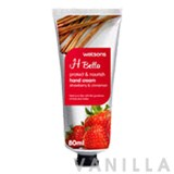 Watsons H Bella Protect & Nourish Hand Cream Strawberry & Cinnamon