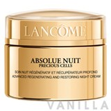 Lancome Absolue Nuit Precious Cells Advanced Regenerating and Restoring Night Cream