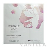 The Face Shop Wrinkle Stop Absolute Ampoule + Mask Sheet