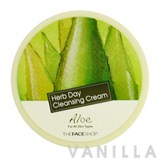The Face Shop Herb Day Cleansing Cream Aloe