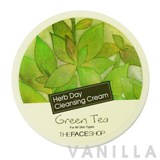 The Face Shop Herb Day Cleansing Cream Gren Tea