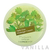 The Face Shop Herb Day Massage Cream Mugwort