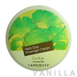 The Face Shop Herb Day Massage Cream Ginkgo
