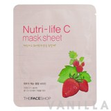 The Face Shop Nutri-Life C Mask Sheet