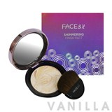 The Face Shop Face & It Shimmering Finish Pact