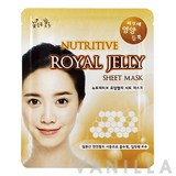 Beauty Credit Nutritive Royal Jelly Sheet Mask