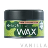 Beauty Credit Style on Hair Wax Super Hold Gum