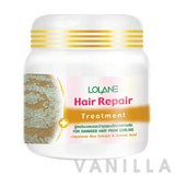 Lolane Hair Repair Treatment for Damaged Hair from Curling