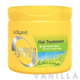 Lolane Smooth & Style Hair Treatment Rice Paddy Milk