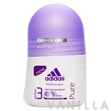 Adidas For Women Action 3 Anti-Perspirant Pure Deo Roll-On