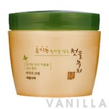 Welcos Spring Leaves of Green Tea Pure Massage Cream