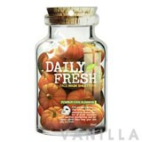 VOV Daily Fresh Face Mask Sheet Type Pumpkin Cool Sliming