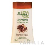 Yves Rocher Jardins du Monde Brazilian Coffee Beans Shower Gel