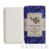 Crabtree & Evelyn Heritage Soaps Vetiver & Juniper Triple Milled Soap