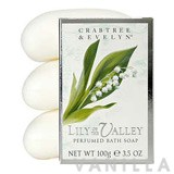 Crabtree & Evelyn Lily of the Valley Triple-Milled Soap