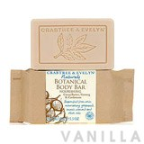 Crabtree & Evelyn Naturals Cocoa Butter, Nutmeg & Cardamom Botanical Body Bar