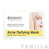 Scentio Acne Defying Mask Powder With Tea Tree Oil