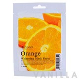 Scentio Orange Whitening Sheet Mask