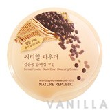 Nature Republic Cereal Powder Black Bean Cleansing Cream