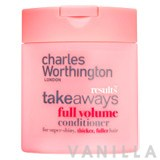 Charles Worthington Takeaways Full Volume Conditioner