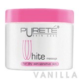 Purete White Massage for Dry Skin-Sensitive Skin