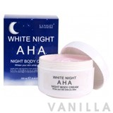 Lansley AHA White Night Body Cream