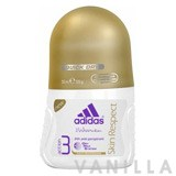 Adidas For Women Action 3 Anti-Perspirant Skin Respect Deo Roll-On