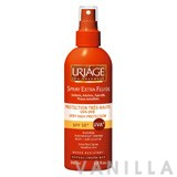 Uriage Spray Extra Fluide Protection Tres Haute UVA-UVB Very High Protection SPF50+