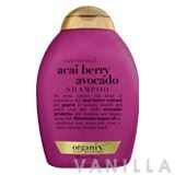 Organix Nutritional Acai Berry Avocado Shampoo