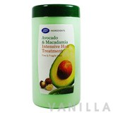 Boots Ingredients Avocado & Macadamia Intensive Hair Treatment