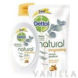 Dettol Natural Invigorating Shower Gel