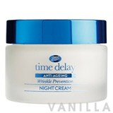 Boots Time Delay Wrinkle Prevention Night Cream