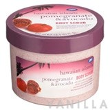 Boots Hawaiian Islands Pomegranate & Avocado Body Scrub