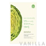Innisfree Natural Essential Mask (Lettuce)