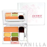 Sunway Eye & Blush Makeup Set