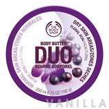 The Body Shop Floral Acai Body Butter Duo