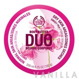 The Body Shop Sweet Pea Body Butter Duo