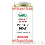 Snake Brand Prickly Heat Cooling Powder Cool Pink