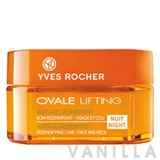 Yves Rocher Ovale Lifting Night Anti-Slackening Redefining Care – Face and Neck