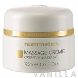Nutrimetics Massage Creme