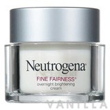Neutrogena Fine Fairness Overnight Brightening Cream